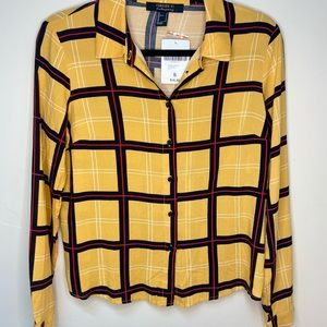 Forever 21 Plaid Blouse NWT!!